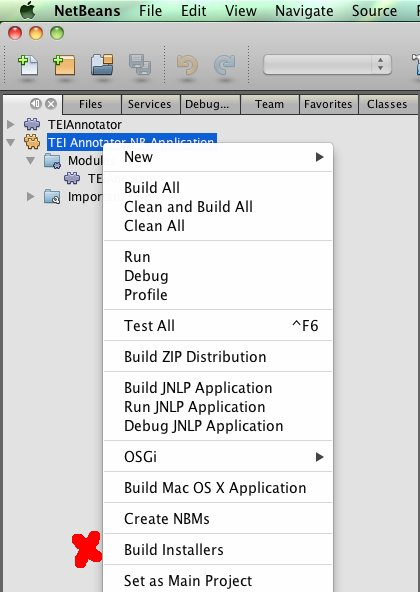 NetBeans build installers