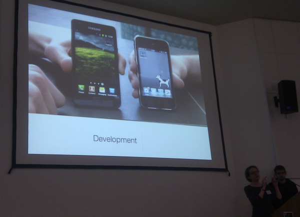 Slide of Predict the Sky Mobile Phone Apps